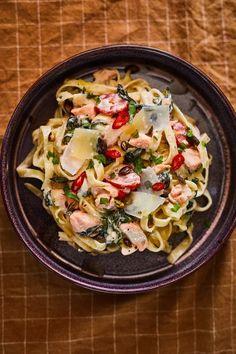 A tökéletes Citromos-lazacos tészta receptje  Street Kitchen