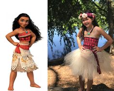 Moana Inspired Tutu Dress Costume
