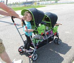 Big Caboose!  Big ride for 3 kiddos