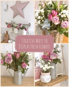 #freshflowers #flowers #homedecor #interiorstyling #pink Fresh Flowers, Interior Styling, Display, Table Decorations, Cosy, Creative, Pink, Blog, Lounge