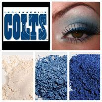 Support your favorite team with Younique fabulous pigments. Younique Southern Lashes by Abby http://www.facebook.com/yslashes www.yslashes.com