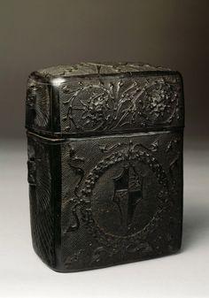 Book box, 1475-1500. Leather, Venice. Private Collection. Via...