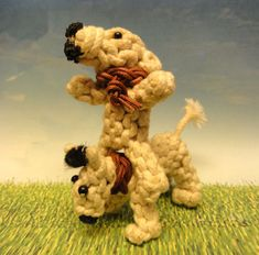 knotted animal dogs