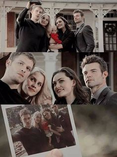 The Originals ... Klaus, Rebekah, Hope, Hayley and Elijah ... family pic
