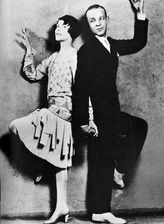 Fred and his sister, Adele Astaire