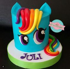 O Little Pony Cake, Birthday Cake, Desserts, Food, Pastries, Food Cakes, Meet, Tailgate Desserts, Birthday Cakes