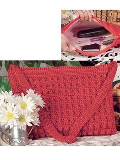 Nylon Popcorn Purse Crochet Pattern - free membership pattern