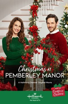 "Get video, photos and more for the Hallmark Channel original movie ""Christmas at Pemberley Manor"" starring Jessica Lowndes and Michael Rady. Hallmark Channel, Películas Hallmark, Films Hallmark, Hallmark Holiday Movies, Christmas Movies On Tv, Hallmark Holidays, Halloween Movies, Jessica Lowndes, Hindi Movies"