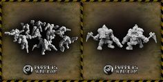 Today we re-released two of our older sets: ORC THUGS GANG and ORC THUGS BIGGER GANG. Reworked miniatures features holes for magnets in torsos and arms, which makes converting them a little bit easier.  https://puppetswar.eu/product.php?id_product=340 https://puppetswar.eu/product.php?id_product=339