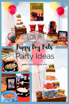 Celebrate FRiYAYS with these adorable Disney Junior Puppy Dog Pals party ideas! 1st Birthdays, 3rd Birthday Parties, Birthday Fun, Birthday Ideas, Bingo, Puppy Birthday, Puppy Party, Disney Junior, Holiday Parties