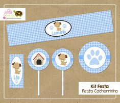 Kit Festa Cachorrinh
