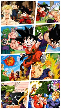 Dragon Ball by JemmyPranata on DeviantArt Manga Anime, Anime Art, Anime Goku, Dragon Z, Dragon Ball Z, Dbz Wallpapers, Kid Goku, Ball Drawing, Naruto Wallpaper