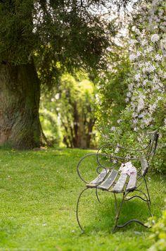 Nymans Garden Bench by -~g@ry~ (clevedon-clarks)- #flickstackr  Flickr: http://flic.kr/p/eAp8rC