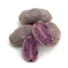 all blue fingerling potato