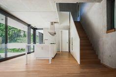 peter ruge architekten combines japanese & german in house M in berlin