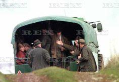 Princess Diana (far left) at a pheasant shoot, Sandringham, Norfolk, Britain - Dec 1990