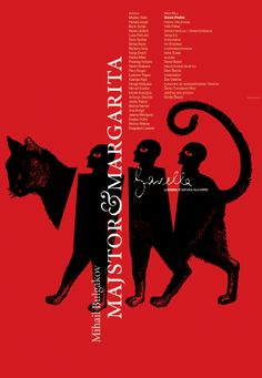 Vanja Cuculıć – Poster for a theatre production of Mikhail Bulgakov's Master and Margarita