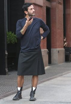 saia masculina