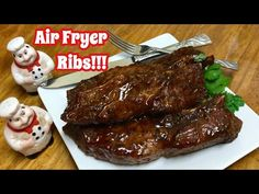 How To Cook Ribs In The Air Fryer | Country Style Ribs - YouTube Air Fryer Recipes Pork, Air Frier Recipes, Air Fryer Dinner Recipes, Pork Rib Recipes, Boneless Country Style Ribs, Country Ribs Recipe, Boneless Beef Ribs, How To Cook Ribs