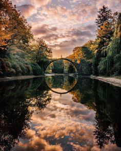 Rakotzbrücke, germany on in 2019 Amazing Photography, Landscape Photography, Nature Photography, Travel Photography, Adventure Is Out There, Nature Pictures, Amazing Nature, Pretty Pictures, The Great Outdoors