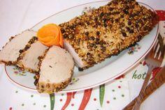 Retete Culinare - Cotlet de porc in crusta de condimente Avocado Toast, French Toast, Meat, Breakfast, Pork, Morning Coffee