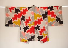 This is a beautiful camouflage pattern haori, really dazzling! http://contemporary-design-kimono.com