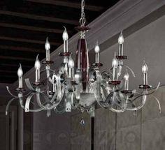 #chandelier #lighting #celling_lamp #cellinglamp #interior #design #interiordesign Светильник  потолочный подвесной Euroluce Nauge, NL8_4ASF_Am