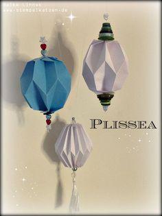 #Plissea - Artikel, Test und Buchrezension im Rahmen des großen Blogger-# Adventskalender @frechverlag #Origami #machwas