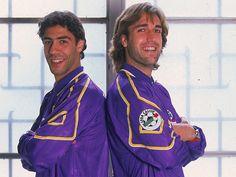 Rui Costa & Gabriel Batistuta #legends #fiorentina