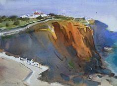 Eugen Chisnicean Artwork Santa Cruz, Portugal