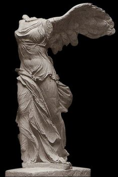 Nike of Samothrace Statue Sculpture – Identieke reproductie Ancient Greek Sculpture, Greek Statues, Ancient Greek Art, Angel Statues, Greek History, Art History, European History, American History, Ancient History