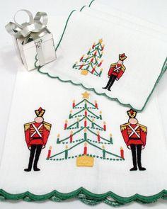 Grenadier Guest Towels & Cocktail Napkins