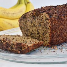 """""""Banana Bread! Remember last week when I teased that I had come up with a super moist and delicious paleo banana breadhttp://www.instapinapp.com (02/24/2015)"""