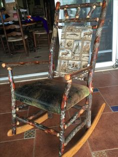 Rocking Chair, Furniture, Home Decor, Terrace, Beach, Homemade Home Decor, Rocking Chairs, Home Furnishings, Decoration Home