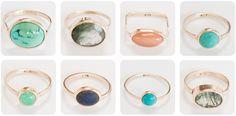 Beautiful Dear Rae gold rings