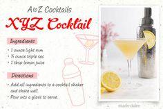 XYZ Drink Recipe