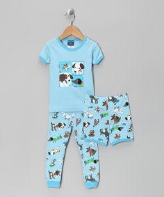 Another great find on #zulily! Candlesticks Blue Dog Pajama Set - Infant & Toddler by Candlesticks #zulilyfinds