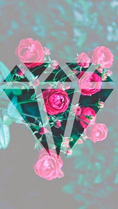 Diamond Rose Wallpaper