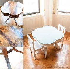 Repurposed Play Table