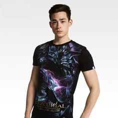 DOTA Mercurial T-shirts Black Defense of Antients Tees For men