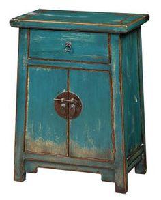 2 Door 1 Drawer Small Cabinet