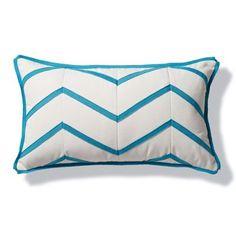 Aruba Chevron Outdoor Lumbar Pillow $99