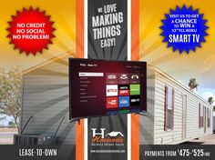 """GET A CHANCE TO WIN A 32"""" TCL SMART TV"""