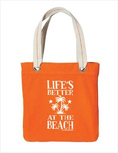 Life's Better at the Beach - Beach Bag – thoughtbite