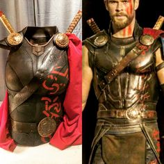 Thor Ragnarok Costume, Thor Costume, Thor Cosplay, Cosplay Dress, Cosplay Costumes, Halloween 2019, Halloween Makeup, Halloween Ideas, Halloween Costumes