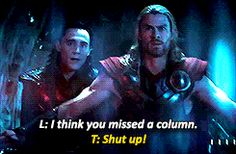 This movie was lovely. So much Loki-sass!!!!
