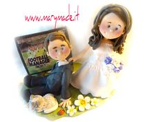 Visit www.it to book your very own make your wedding cake complete! Wedding Cake Toppers, Wedding Cakes, Handmade Wedding, Creations, Fan, Make It Yourself, Christmas Ornaments, Holiday Decor, Book