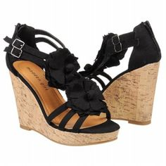 Madden Girl Women's Kloverr. Not sure about all that cork but I like the strappy floral look.