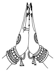 Tamil Cliparts: Printing Line art - 4 ( Wedding and invitations ) Dance Paintings, Indian Art Paintings, Wedding Drawing, Wedding Art, Art Drawings Sketches Simple, Pencil Art Drawings, Tattoo Femeninos, Namaste Art, Indian Art Gallery