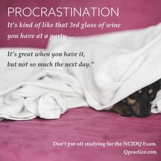 NCIDQ Procrastination Lessons Learned